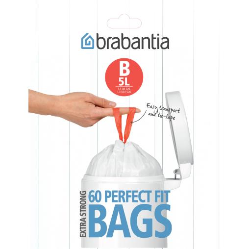 Brabantia Müllbeutel 5 l (B)