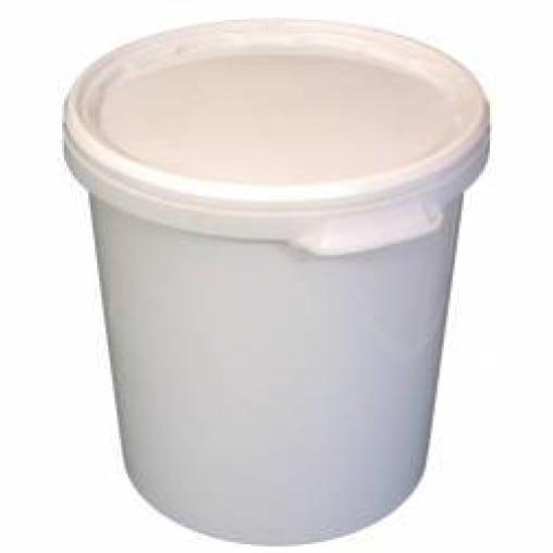 Kunststoffeimer -Hobbock- 30 Liter, weiß