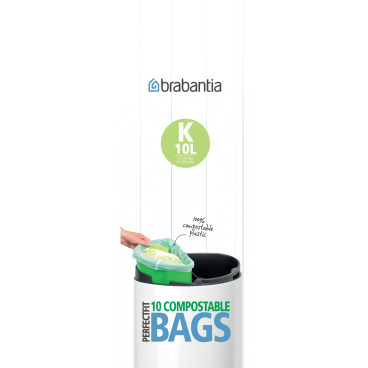 Brabantia Müllbeutel - Biologlisch abbaubar
