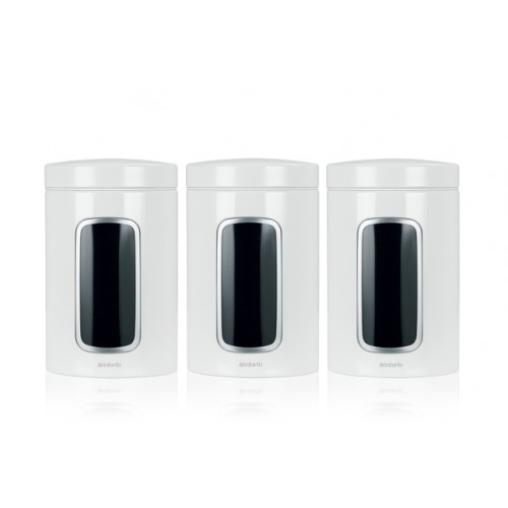 Brabantia Fensterdose 1,4 l - 3er Set