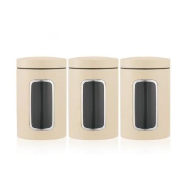Brabantia Fensterdose 1,4 Liter, 3-teiliges Set