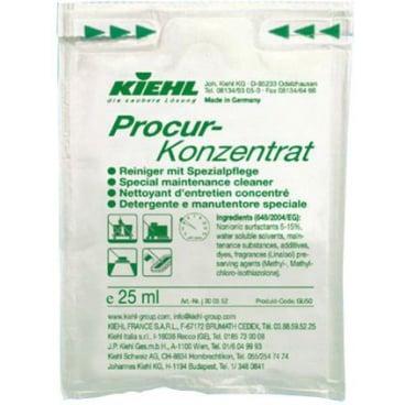 Kiehl Procur-Konzentrat Wischpflege DIN 18032 25 ml - Dosierbeutel (1 Karton = 240 Beutel)