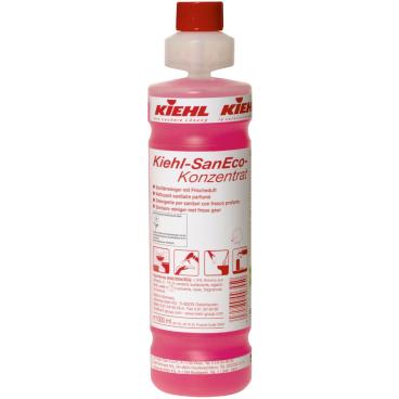 Kiehl SanEco-Konzentrat Sanitärreiniger 1 Karton = 4 x 1000 ml - Flasche