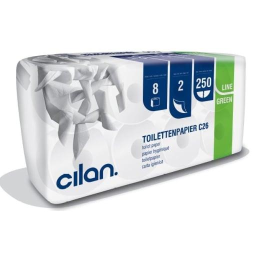 Cilan Toilettenpapier, Tissue, 2-lagig