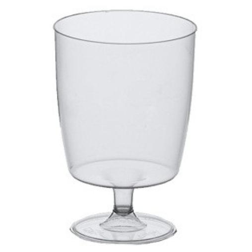 Papstar Stiel-Gläser für Rotwein, glasklar