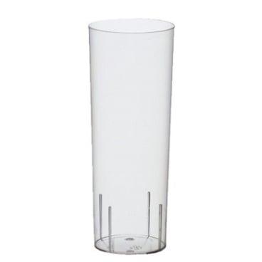 Papstar Gläser für Longdrinks aus Polystyrol