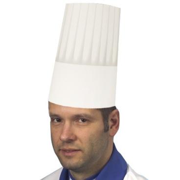 Papstar Burgund Kochmütze, größenverstellbar