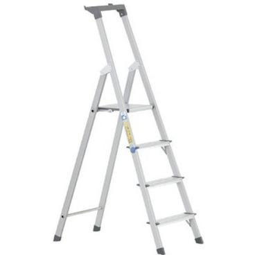 Zarges Scana S Stufen-Stehleiter 4 Stufen, Plattformhöhe: 81 cm