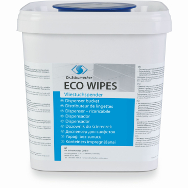 Dr. Schumacher ECO WIPES Vliestuchspender, eckig