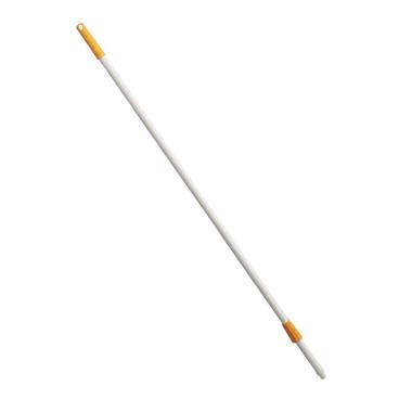 Haug Fiberglasstiel, nicht kälteleitend Kappe und Überwurfmutter: gelb, Länge: 1450 mm