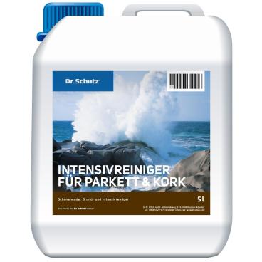 Dr. Schutz® Intensivreiniger für Parkett, Holz, Kork 5 l - Kanister