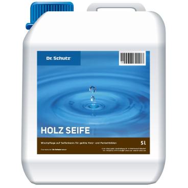 Dr. Schutz® Holz-Seife Wischpflege 5 l - Kanister