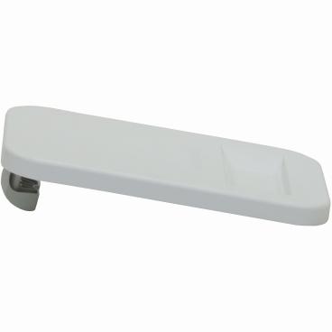 novocal Kunststoffdeckel für Wäschesammler Farbe: weiß